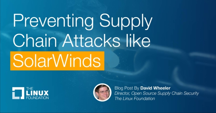 Preventing Supply Chain Attacks like SolarWinds