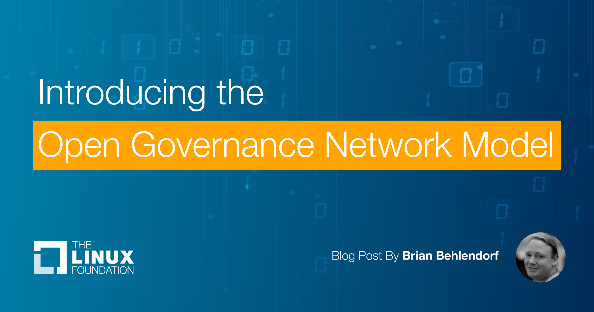 Introducing the Open Governance Network Model