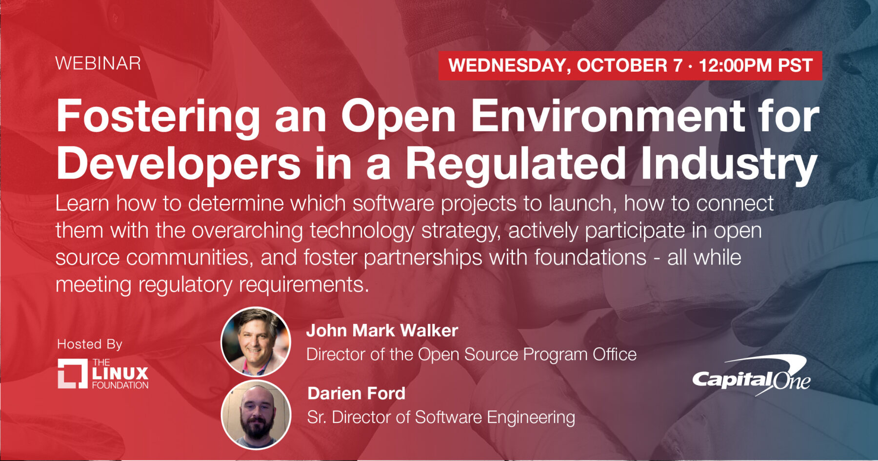 Webinar - Fostering an Open Environment for Developers in a Regulated Industry