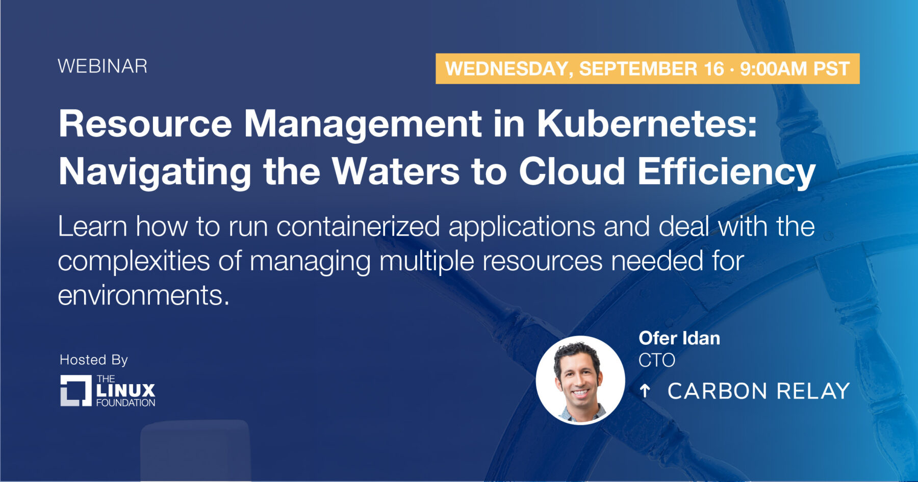 Webinar - Resource Management in Kubernetes: Navigating the Waters to Cloud Efficiency