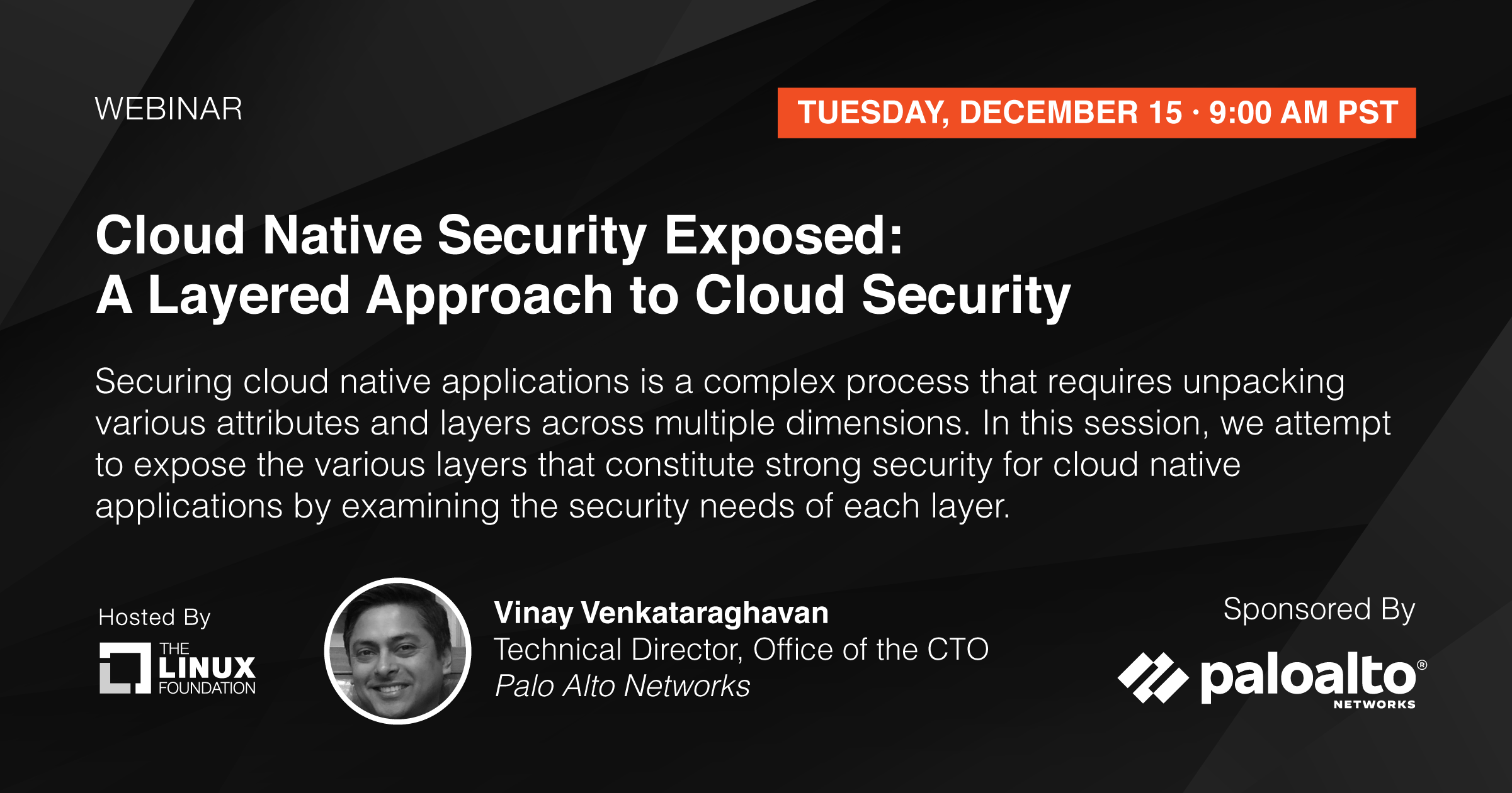 Webinar - Cloud Native Security Exposed: A Layered Approach to Cloud Security