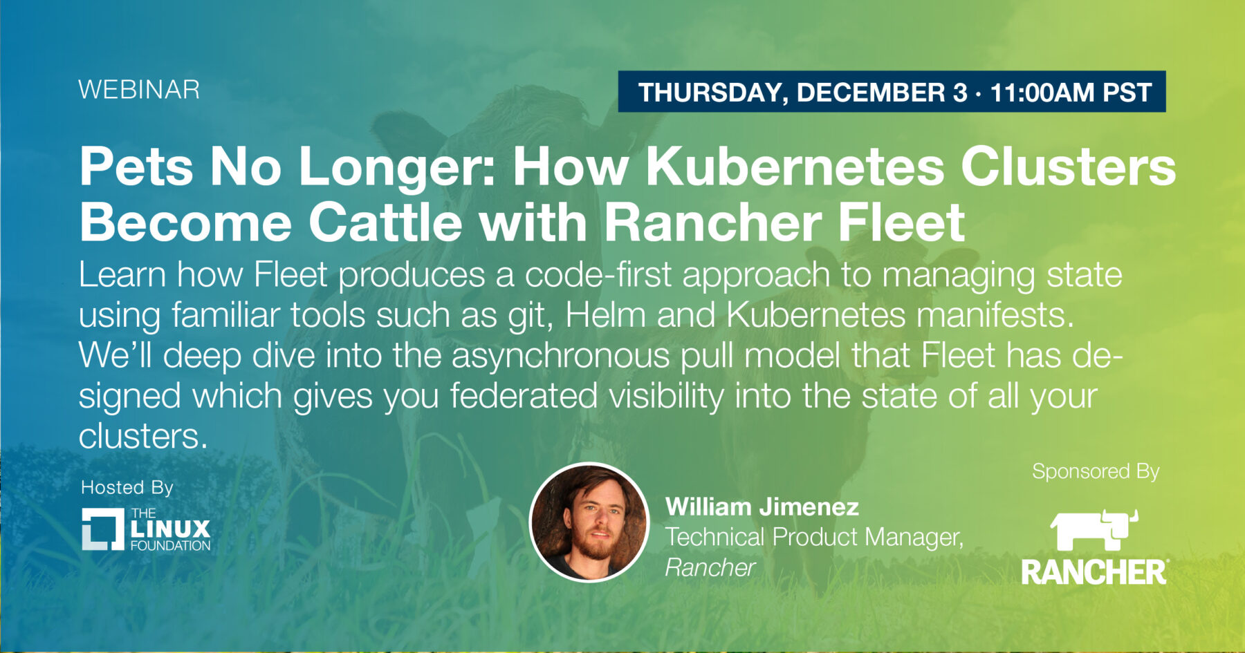 Webinar - Pets No Longer: How Kubernetes Clusters Become Cattle with Rancher Fleet