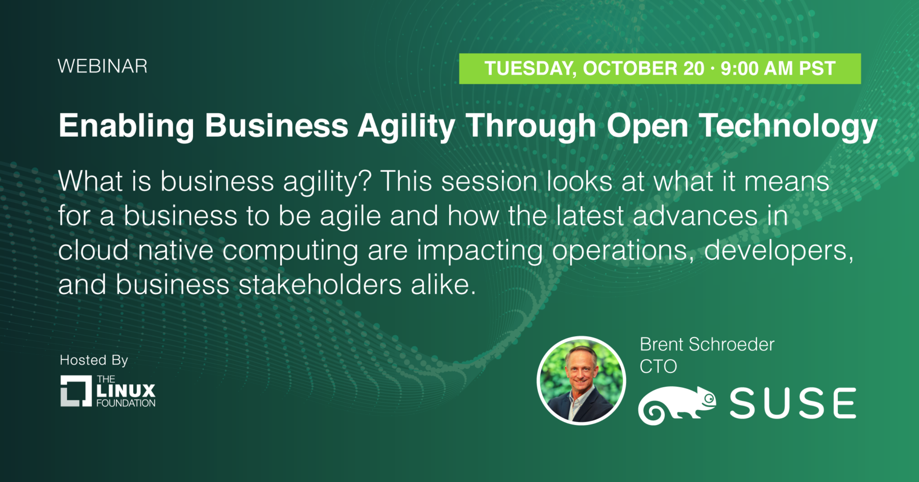 Webinar - Enabling Business Agility Through Open Technology