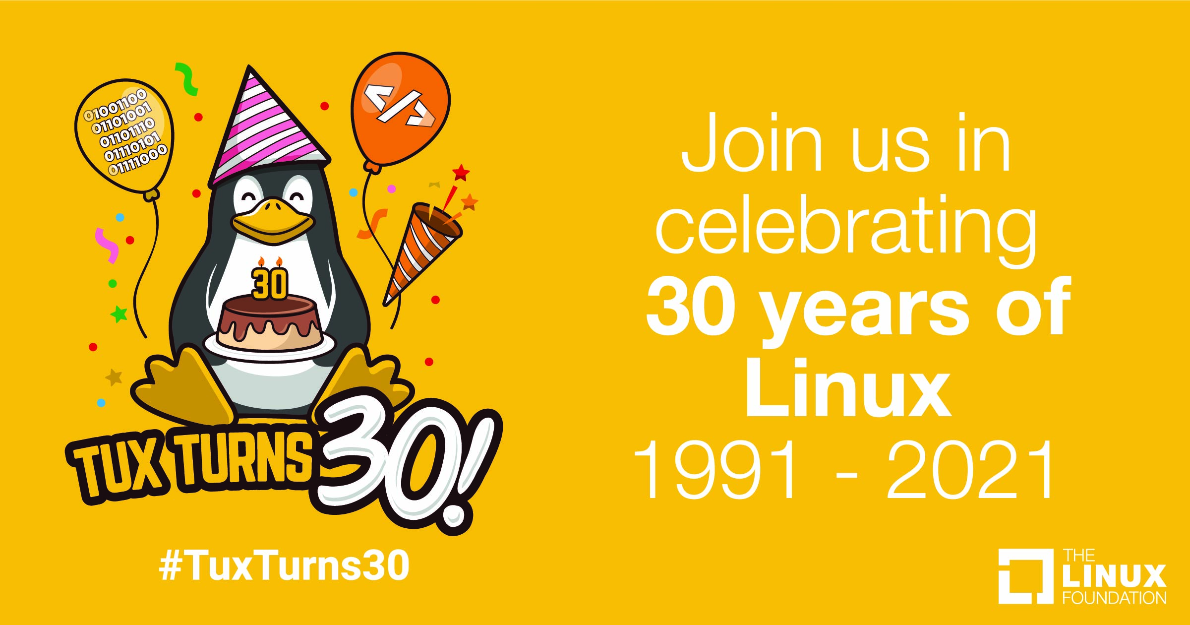 Celebrate 30 years of Linux